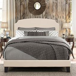 Hillsdale Furniture Platform Bed in One with Wooden Legs in