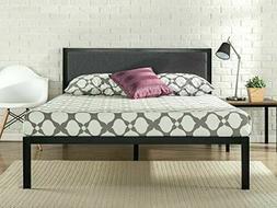 Zinus Korey 14 Inch Platform Metal Bed Frame with Upholstere