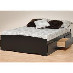 Prepac Full Platform Storage Bed - WBD-5600-3K