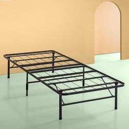 Platform Twin Size Bed Frame, 14 Inch High Metal Mattress St