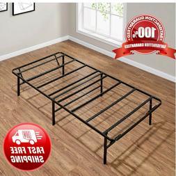 Platform Twin XL Size Bed Frame 14 Inch Mattress Foldable Me