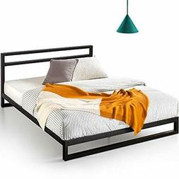 Zinus Trisha 7 Inch Platforma Bed Frame with Headboard / Mat