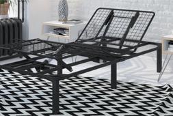 Signature Sleep Power Adjustable Metal Bed Foundation, Remot