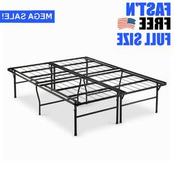 Premium 18 Inch Full Metal Smartbase Bed Frame Easy Assembly