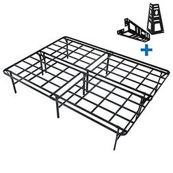 HOMUS 16 Inch High Profile Platform Bed Frame,Heavy Duty/Str