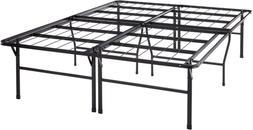 Best Price Mattress Queen Bed Frame - 18 Inch Metal Platform
