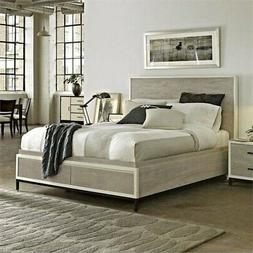 Beaumont Lane Queen Bed in Gray Parchment