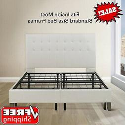 queen box spring replacement metal platform bed