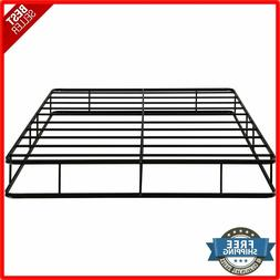 Queen Size Bed Frame 9 Inch Platform Low Profile Steel Slat