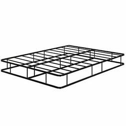 9 Inch Platform Low Profile Bed Frame Steel Slat Mattress Fo
