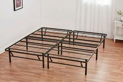 queen size platform bed frame mattress foldable