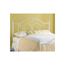 Hillsdale Ruby Spindle Headboard in White - Full/Queen