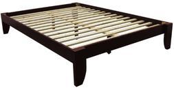 Stockholm Solid Wood Bamboo Platform Bed Frame, King-size, M