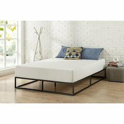 Twin size 10-inch Low Profile Modern Metal Platform Bed Fram