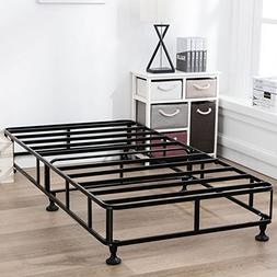 Mecor 8 Inch High Smart Box Spring Metal Bed Frame Mattress