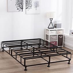 Mecor 8 Inch High Smart Box Spring Metal Bed Frame Mattress