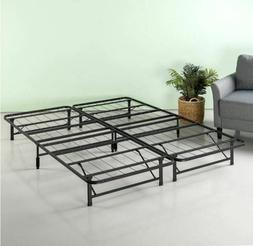 LIFE Home Platform Bed, Queen, Light Grey