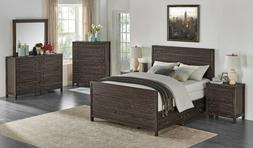 Solid Wood Storage Bed Frame And Furniture Queen, King, or C