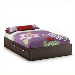 South Shore Spark Mates Bed with 4 Drawers - 55.3 x 76.3 x 1