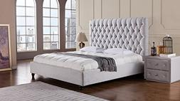 American Eagle Furniture Sterling Collection Fabric Bedroom