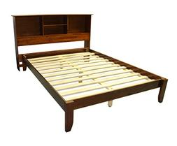 Stockholm Solid Wood Bamboo Platform Bed Frame with Matching