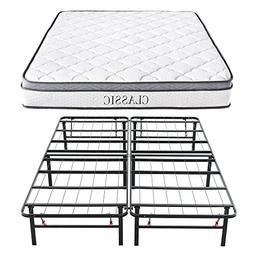 Classic Brands Synergy Memory Foam and Innerspring Hybrid 9-