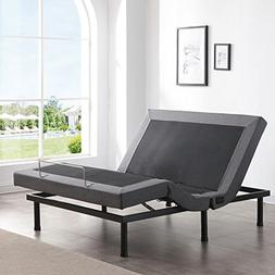 Classic Brands Adjustable Comfort Upholstered Adjustable Bed