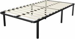 Greenforest Twin Bed Frame Metal Platform Mattress Base Blac