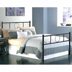 GreenForest Twin Bed Frame Platform with Headboard and Stabl