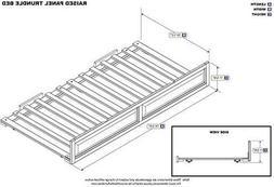 ioneyes Twin Bed Panel No Raised Trundel Walnut