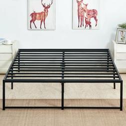 Twin / Full / Queen/King Platform Metal Bed Frame Mattress F