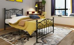 twin full size metal bed frame twin