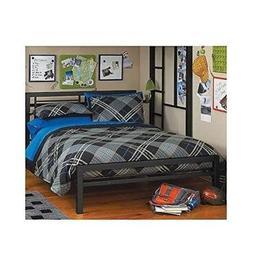 Twin Over Full Bunk Bed Kids Loft Beds Childrens Metal Frame