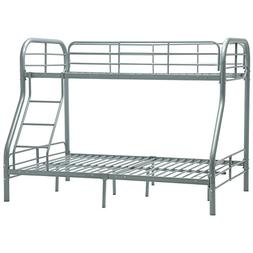 Mecor Twin over Full Metal Bunk Beds with Ladder for Kids Te