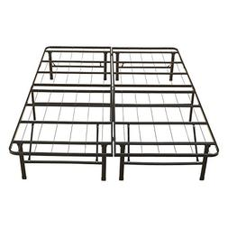 twin platform mattress bed frame