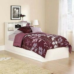 Twin Storage Bed Kids Furniture Bedroom Drawer Frame Headboa