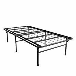 Twin XL Heavy Duty 18-inch High Rise Metal Platform Bed Fram