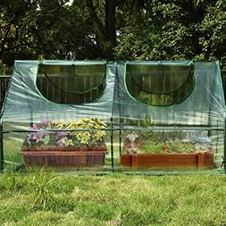 Quictent Waterproof UV Protected Reinforced Mini Greenhouse