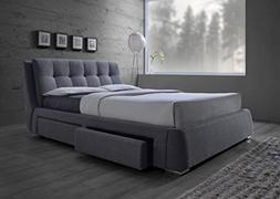 Coaster Home Furnishings 300523KW Upholstered Bed, Californi