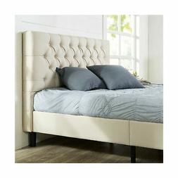 Zinus Misty Upholstered Modern Classic Tufted Platform Bed,