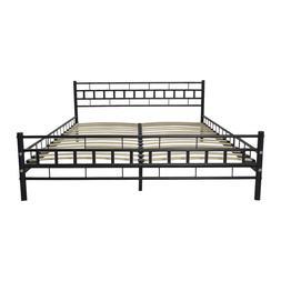 us king size metal font b bed