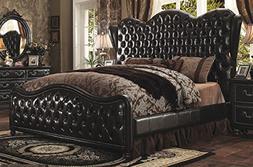 Acme Furniture ACME Varada California King Bed in Vintage Es
