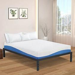 Olee Sleep VC14BX10Q New Dura Metal Steel Slate Bed Frame, Q