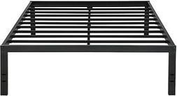 Olee Sleep VC18BX10Q New Dura Metal Steel Slate Bed Frame, Q