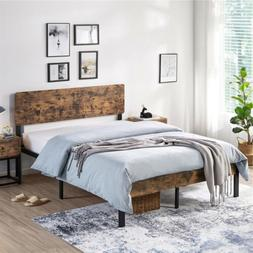 Vintage Style Full/Queen Size Kid Metal Platform Bed Frame w