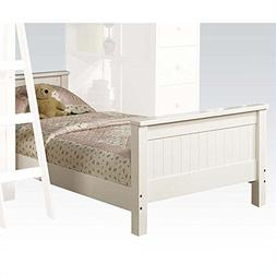 ACME Furniture Willoughby Twin Bed in White