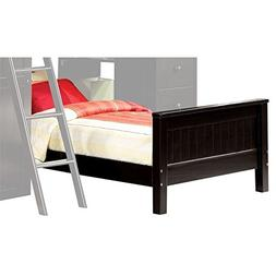 Acme Willoughby Twin Panel Bed in Black