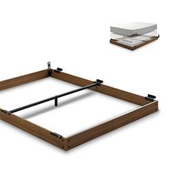 wood bed frame