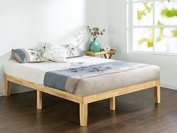 Zinus Wen 12 Inch Wood Platform Bed / No Box Spring Needed /