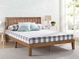 Zinus Alexia 12 Inch Wood Platform Bed with Headboard / No B
